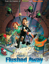 Flushed Away Movie Poster Cameron Hood