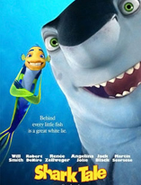 Shark Tale Movie Poster Cameron Hood