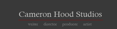 Cameron Hood Writer Director Producer Artist Logo