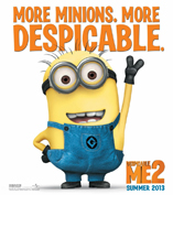 Despicable Me 2 Movie Poster Cameron Hood